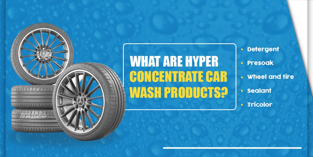 what are hyper concentrate car wash products