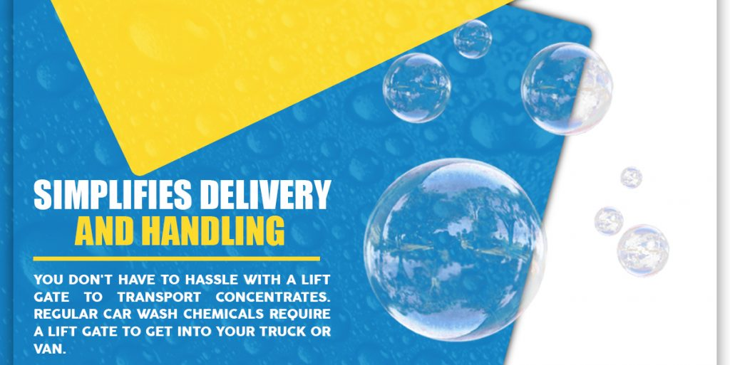 simplifies delivery and handling